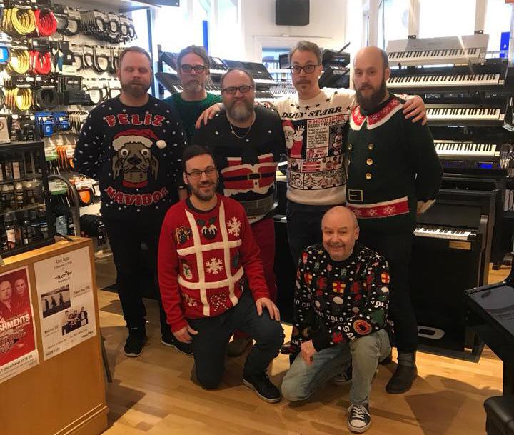 Jul i Malmö Musikaffär