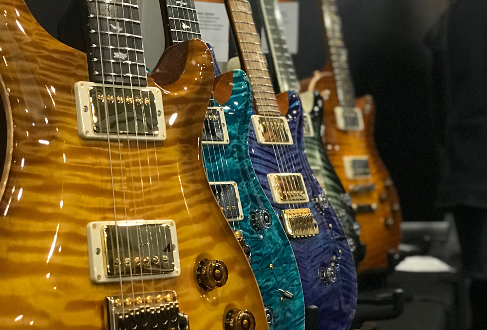 Hos Paul Reed Smith Guitars i London