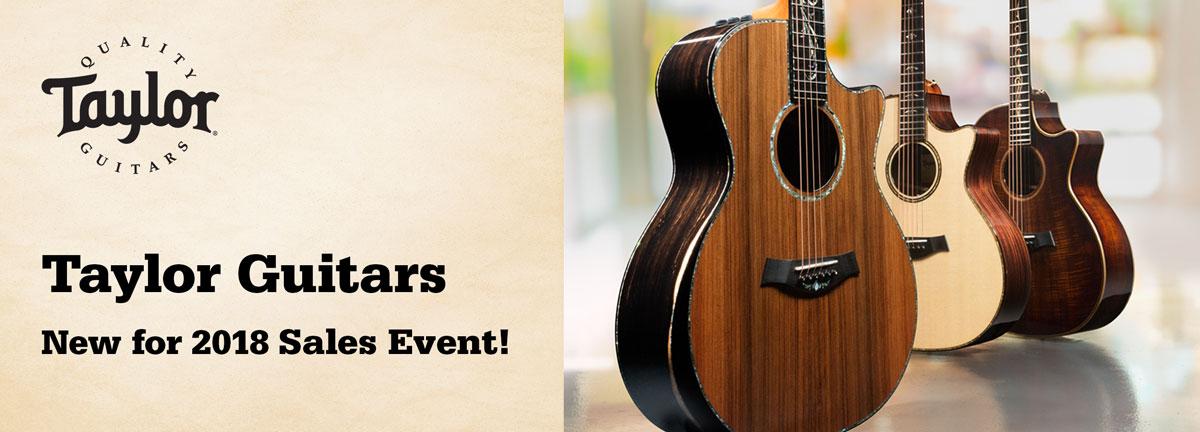 Taylor Guitars V-Class - 2 oktober kl 13