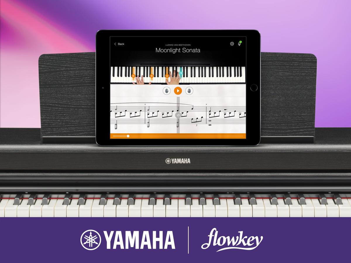 Gratis onlinelektioner vid köp av Yamahas digitalpiano eller keyboard!