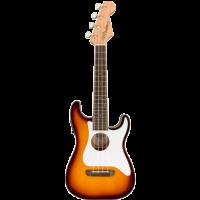 Fullerton Stratocaster Ukulele Sunburst