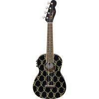 Billie Eilish Ukulele BLK WN