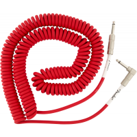 Original Coil Cable 30ft Fiesta Red