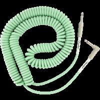 Original Coil Cable 30ft Seafoam Green