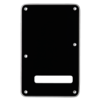 Backplate Stratocaster Black
