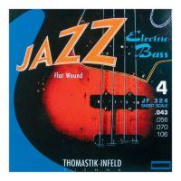 Jazz Flatwound 43-106 Short Scale