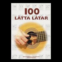 100 Lätta låtar Gitarr