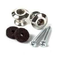 Straplok Dual Design Button Nickel 2-Pack