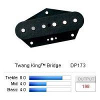 Twang King Bridge Svart DP173BK