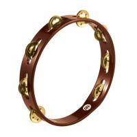 Tamburin Brass African Brown