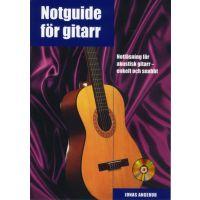 Notguide för gitarr