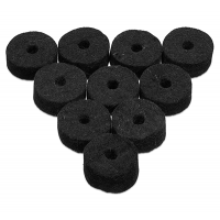 Wool Cymbal Felt (10-p) Black