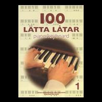 100 Lätta låtar piano/keyboard nr 1