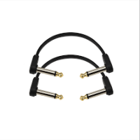 """Flat Patch Cable 4"""" 2 Pack"""