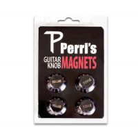 Guitar Knob Fridge Magnet Black