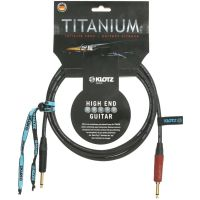 Titanium Guitar Cable Silent Plug 6m