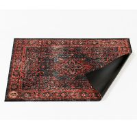 Vintage Persian Red/Black Small